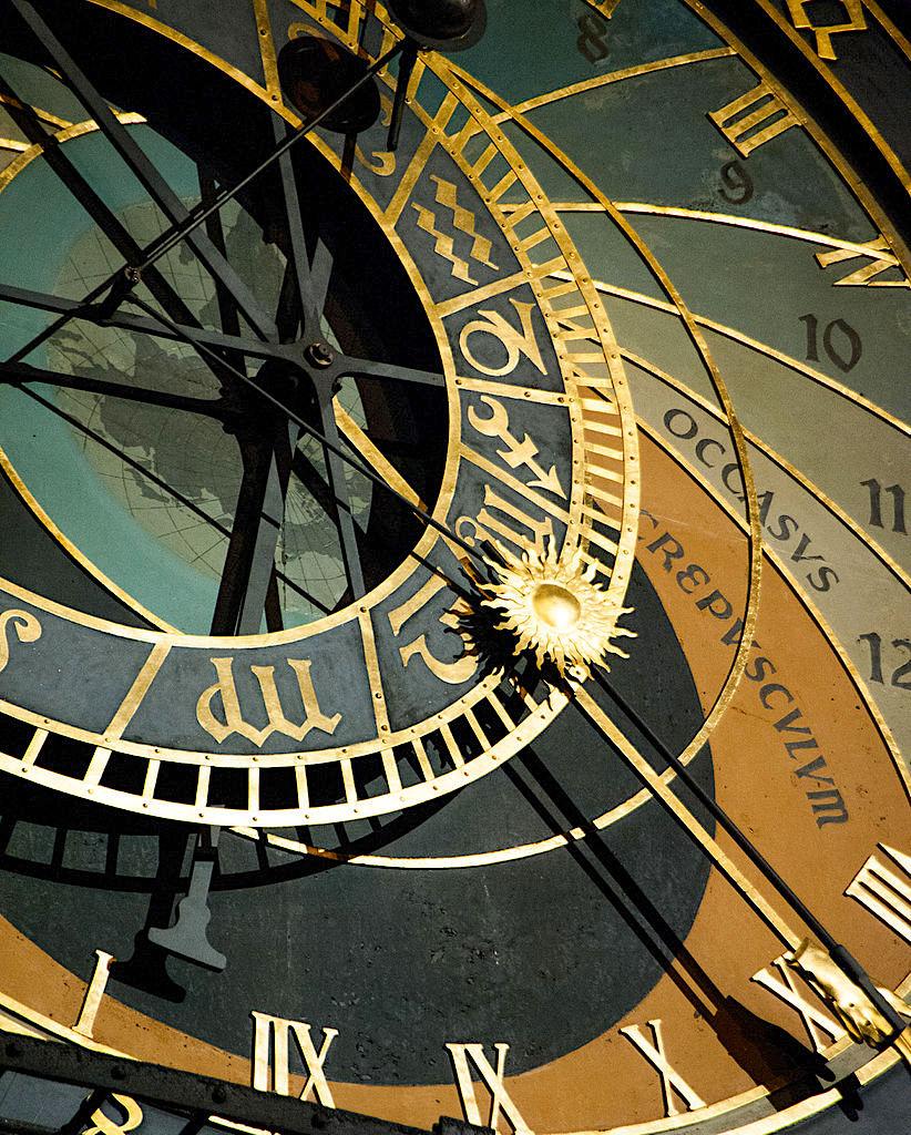 822px The Prague astronomical clock Prague orloj fragment. Prague Czech Republic Western Europe