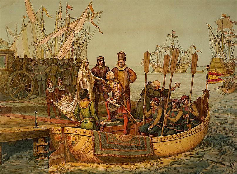 First Voyage Departure for the New World August 3 1492