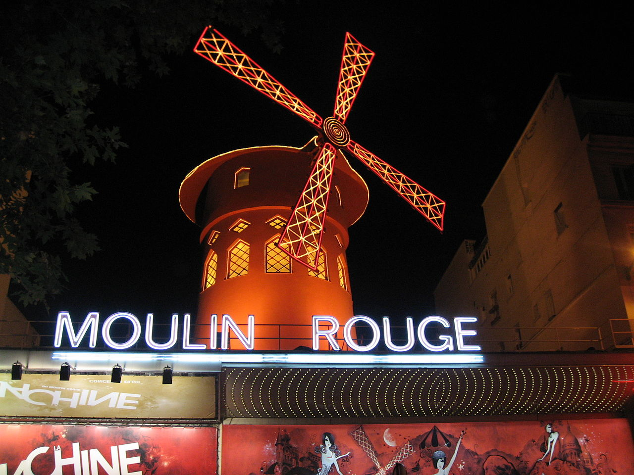 1280px Paris Moulin Rouge at night 01a