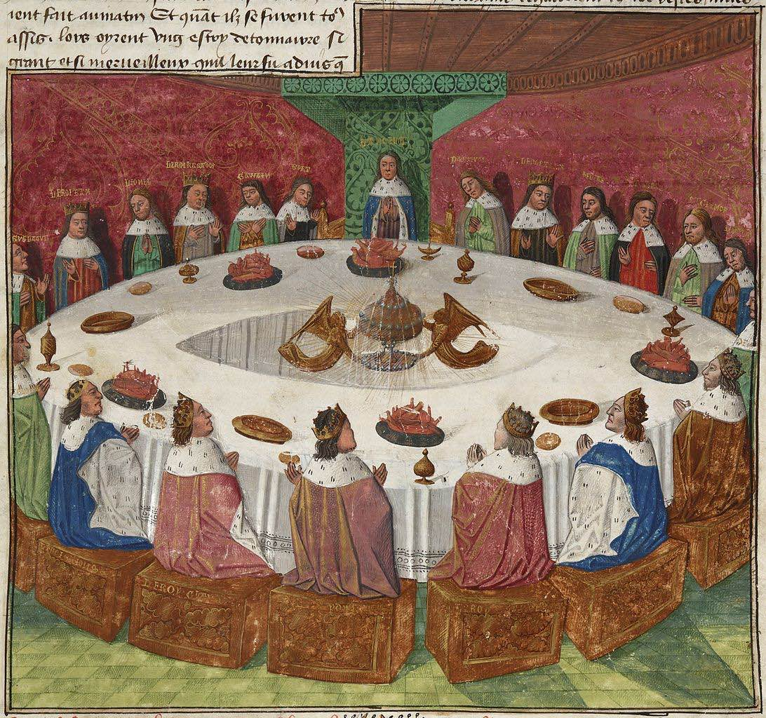 1092px Holy grail round table ms fr 112 3 f5r 1470 detail copie