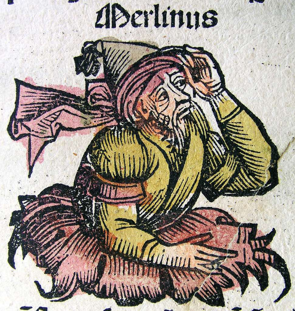 971px Nuremberg chronicles Merlin CXXXVIIIr copie