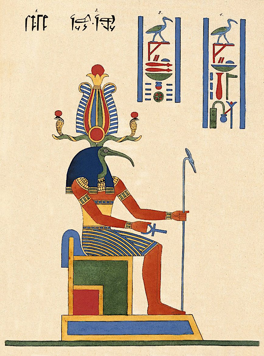 Thoout Thoth Deux fois Grand le Second Hermes N372.2A copie