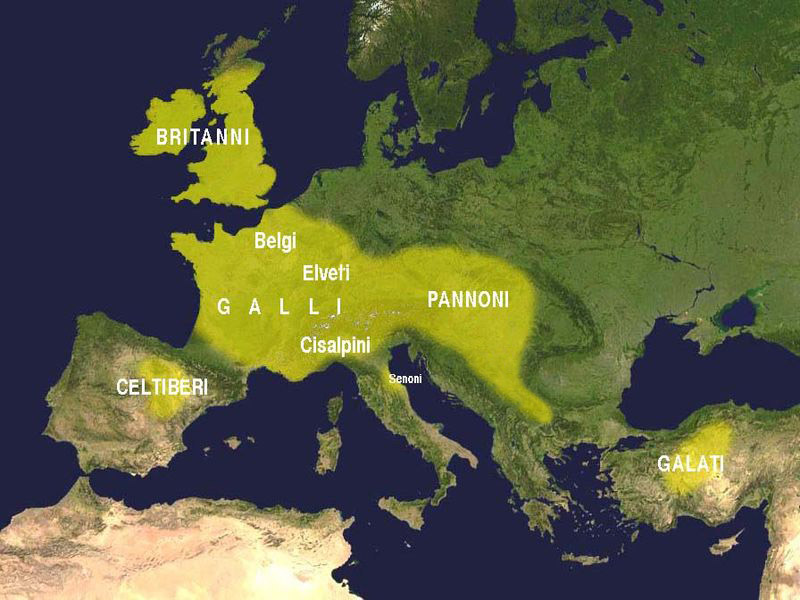 Celts in III century BC
